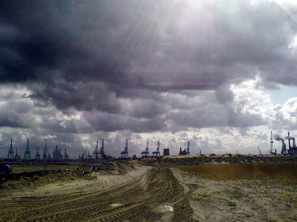 2009-2062 maasvlakte kranen FOTO GUSTAVE PETIT