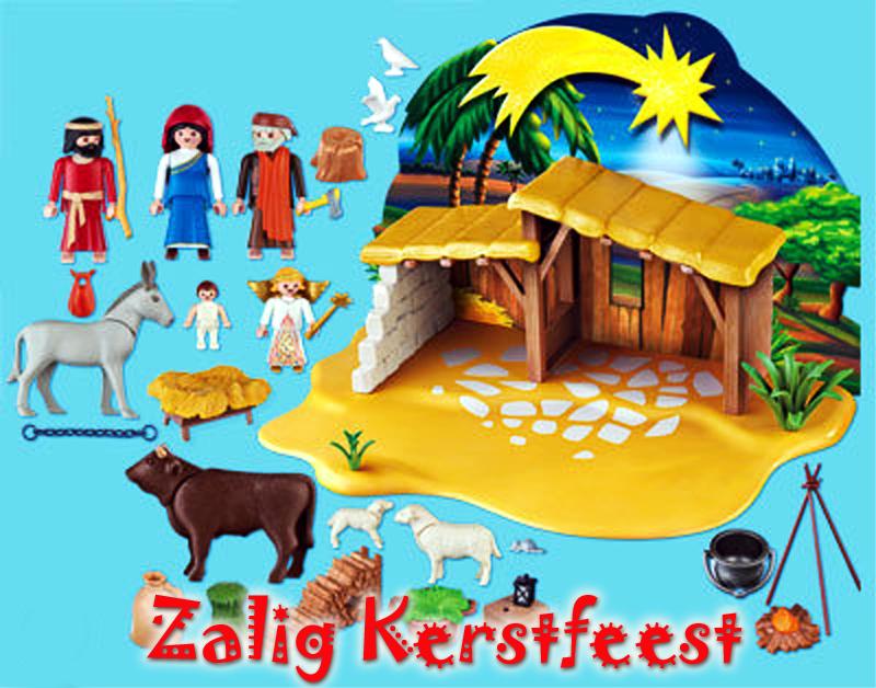 2015 ready-made kerststal playmobil BEELD GUSTAVE PETIT
