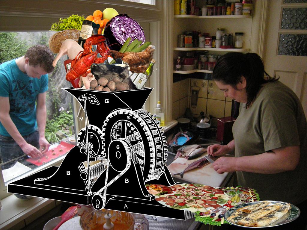 2012-8829 nedermeet lunchmachine FOTO GUSTAVE PETIT