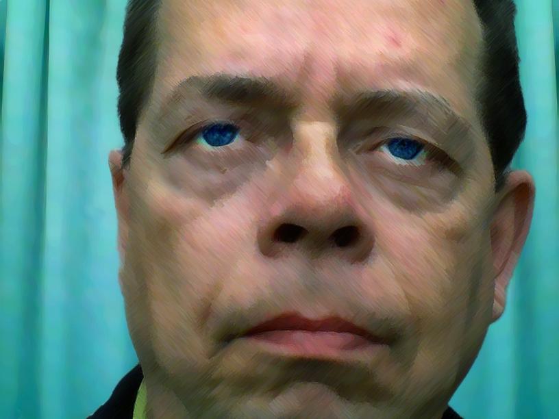 2011-2271 zelfportret als politicus FOTO GUSTAVE PETIT