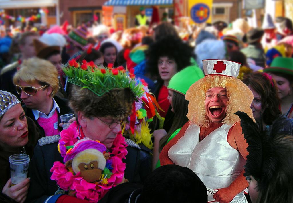 2011 - Carnaval ik verpleegster BEELD GUSTAVE PETIT