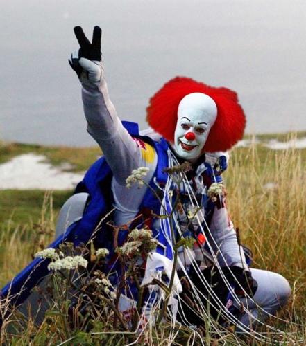 2012 - F Baumgartner clown1