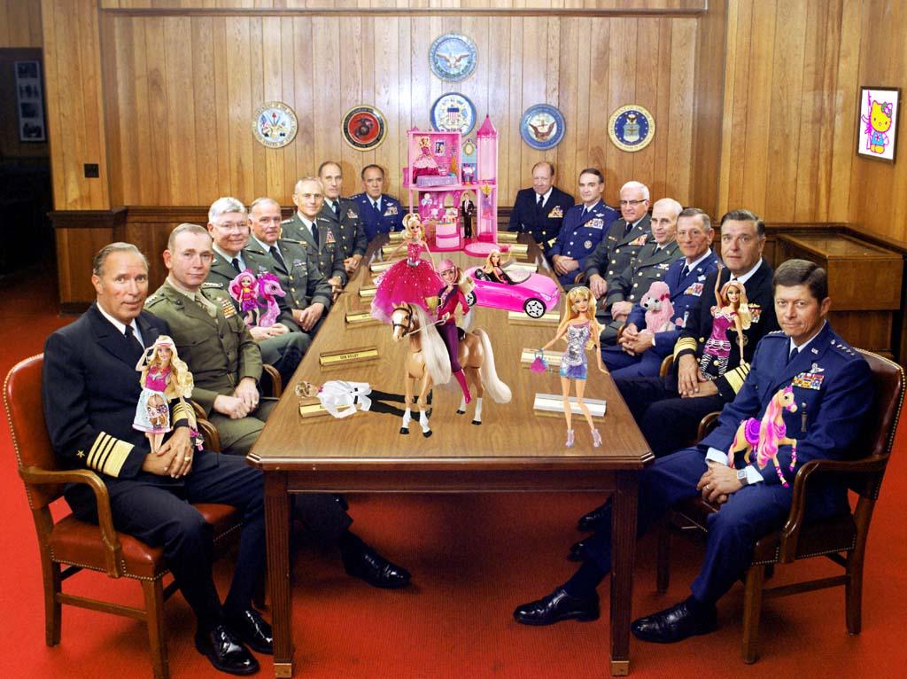 2013 - generaals barbies MONTAGE GUSTAVE PETIT