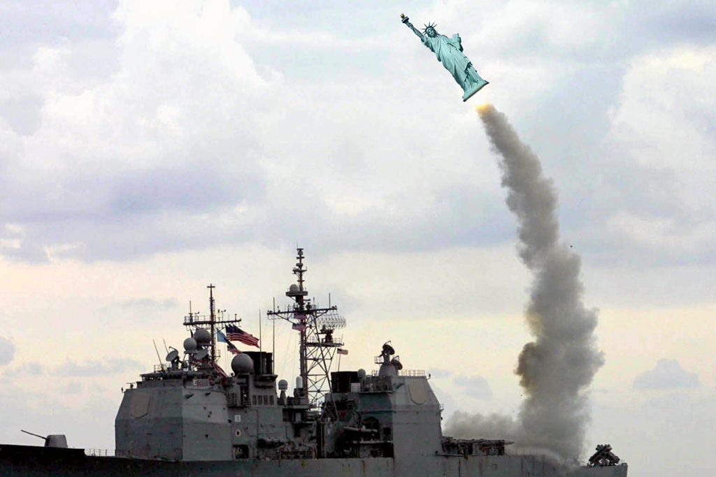 2013 - marineb vrijheidsb raket BEELD GUSTAVE PETIT