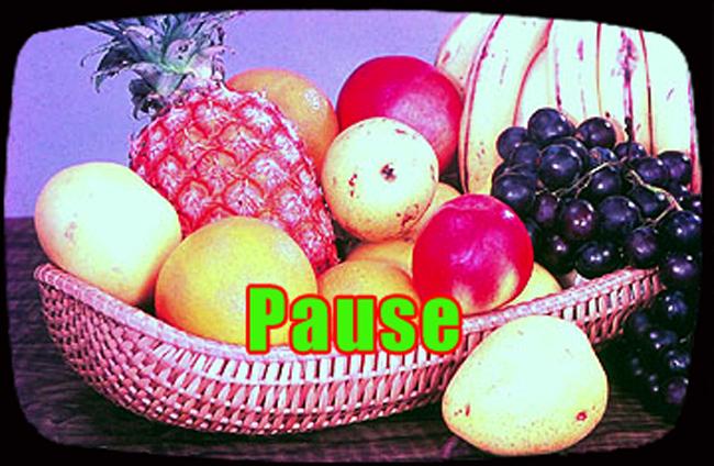 2014 - PAUZE tv-kader fruitmand montage Gustave Petit