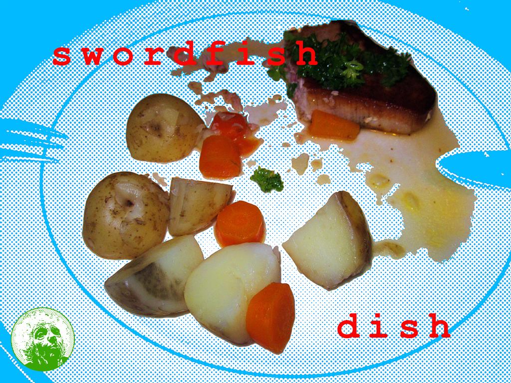 2014 84 Swordfish Dish PHOTO GUSTAVE PETIT