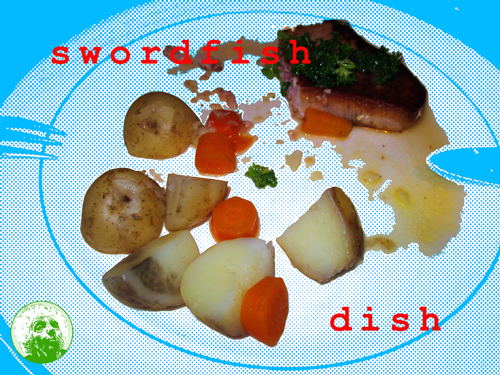 2014 84 Swordfish Dish PHOTO GUSTAVE PETIT