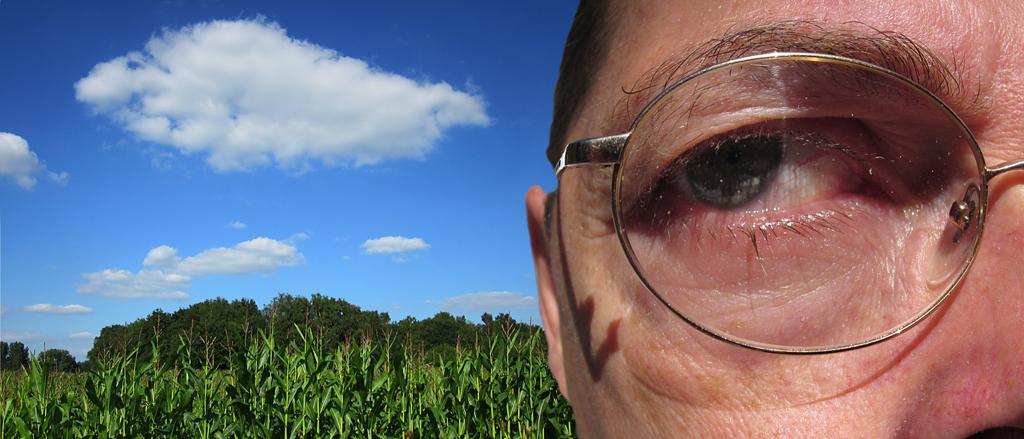 2014-174-31 fisheye wolk ik oog FOTO GUSTAVE PETIT