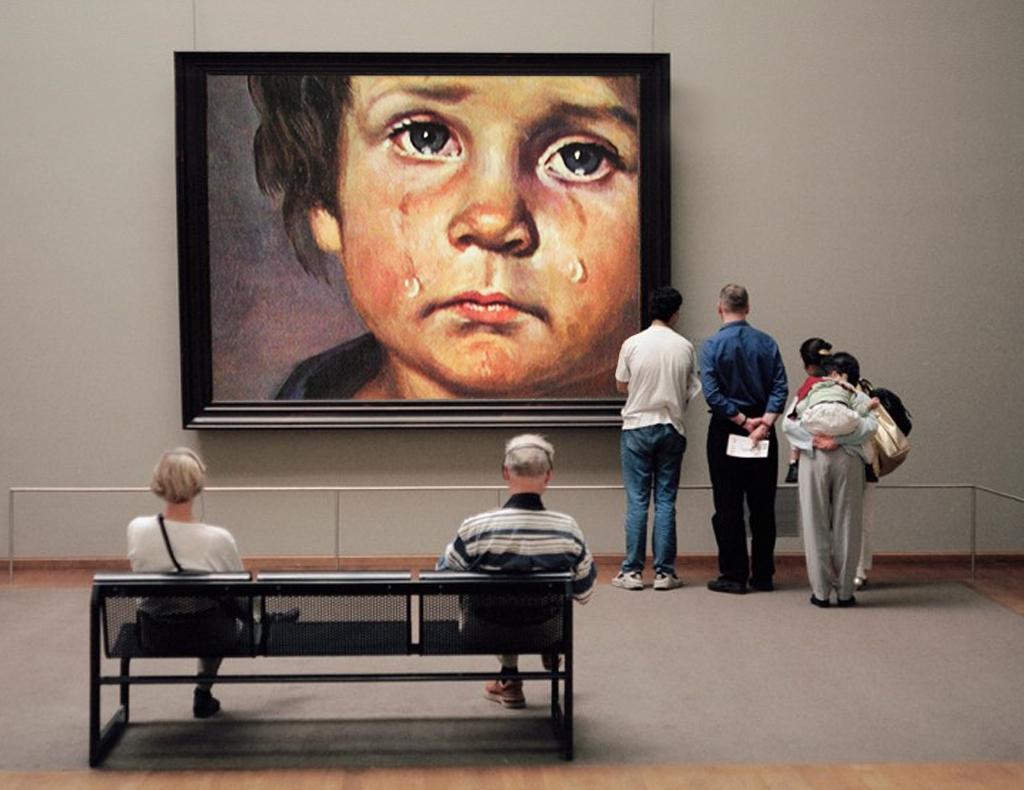 2013 - museum huilend jongen GUSTAVE PETIT