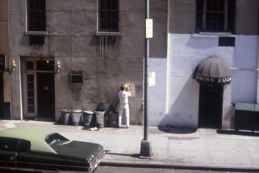 1982-N-04 manhattan opland poster PHOTO GUSTAVE PETIT